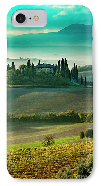 IPhone Case featuring the photograph Belvedere - Tuscany II by Brian Jannsen