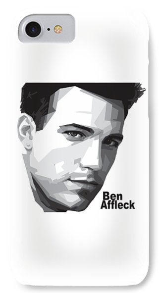 Ben Affleck Portrait Art IPhone 7 Case