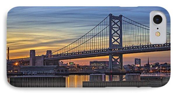 Ben Franklin Bridge IPhone Case
