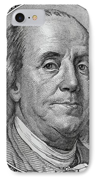 Ben Franklin IPhone Case by Les Cunliffe