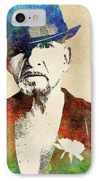 Ben Kingsley IPhone Case by Mihaela Pater