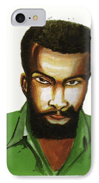 Ben Okri IPhone Case by Emmanuel Baliyanga