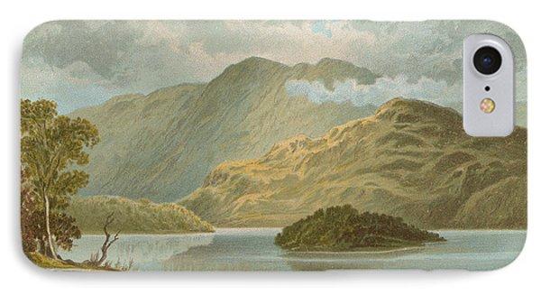 Ben Venue And Ellen's Isle   Loch Katrine IPhone Case by English School