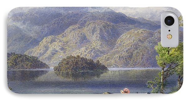 Ben Venue And Ellen's Isle, Loch Katrine IPhone Case