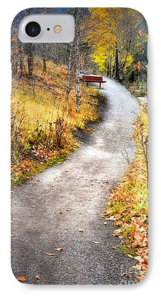 Bench On A Hill Phone Case by Tara Turner