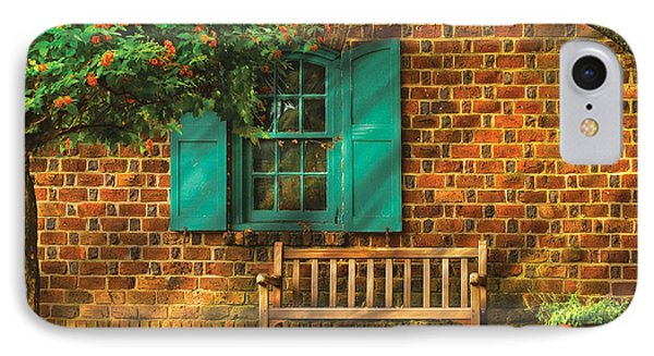 Bench - Please Have A Seat IPhone Case by Mike Savad