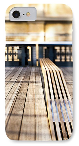 Benches At The High Line Park Phone Case by Eddy Joaquim