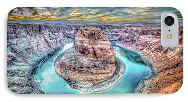 Bend In The River IPhone Case by Mark Dunton