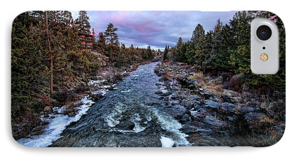 Bend, Oregon Deschutes River I IPhone Case by Chuck Kuhn