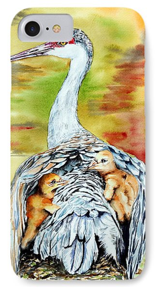 Beneath My Wings IPhone Case by Maria Barry