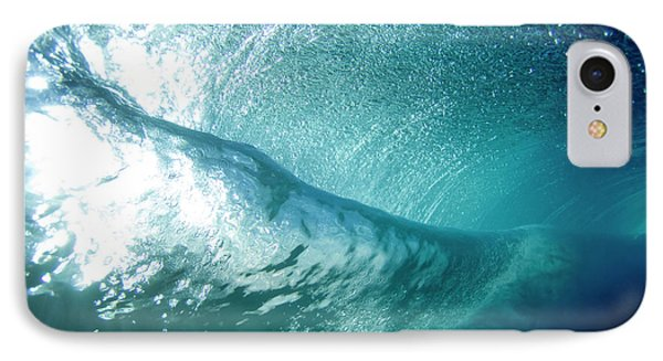 Beneath The Curl IPhone Case by Sean Davey