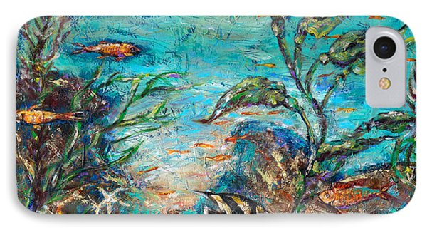 Beneath The Waves IPhone Case