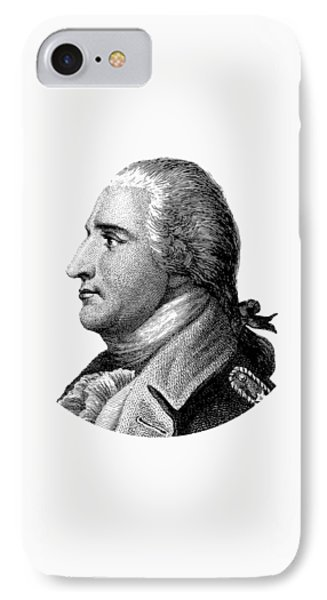 Benedict Arnold - Black And White IPhone Case by War Is Hell Store