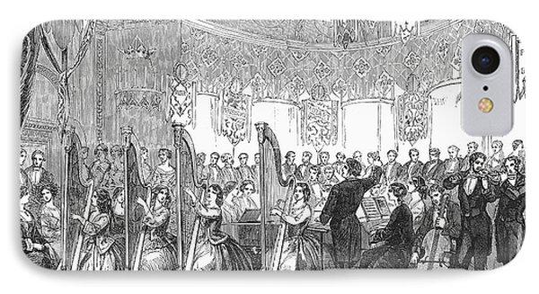 Benefit Concert, 1853 Phone Case by Granger