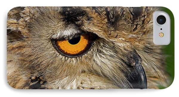 Bengal Eagle Owl Phone Case by JT Lewis