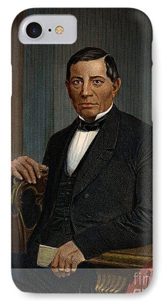 Benito Juarez (1806-1872) Phone Case by Granger