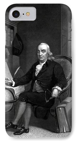 Benjamin Franklin -- The Scientist IPhone Case