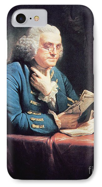 Benjamin Franklin IPhone Case