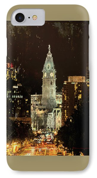 Benjamin Franklin Parkway IPhone Case by Marvin Spates