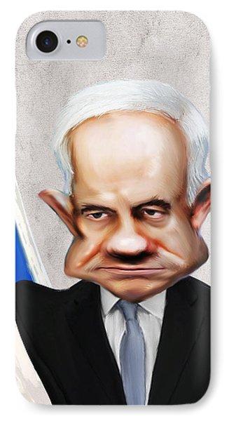 Benjamin Netanyahu IPhone Case by Lee went