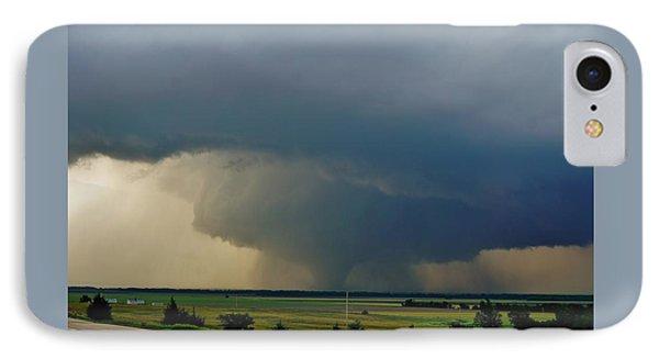 IPhone Case featuring the photograph Bennington-chapman Tornado by Ed Sweeney