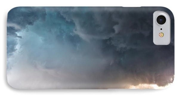 Bennington Kansas Tornado Structure IPhone Case by James Menzies