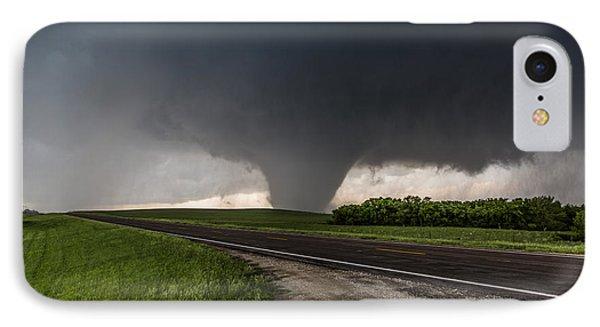 IPhone Case featuring the photograph Bennington Kansas Wedge by James Menzies