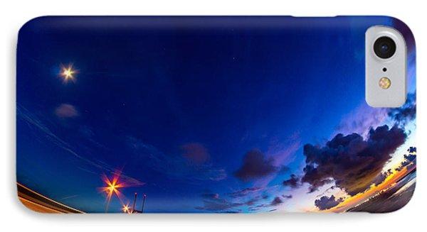 Bent Around The Sidney Lanier Bridge IPhone Case by Chris Bordeleau