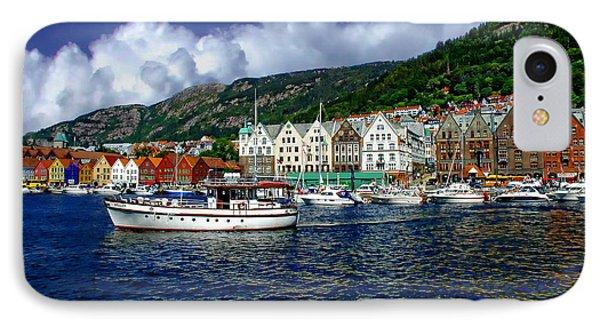 Bergen - Norway IPhone Case by Anthony Dezenzio