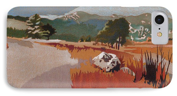 Bergen Peak First Snow IPhone Case