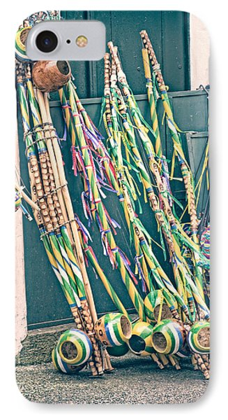 IPhone Case featuring the photograph Berimbau's by Kim Wilson