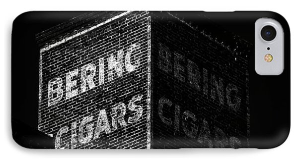 Bering Cigar Factory IPhone Case by David Lee Thompson