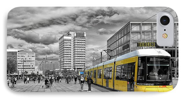 Berlin Alexanderplatz Edition IPhone Case by Joachim G Pinkawa