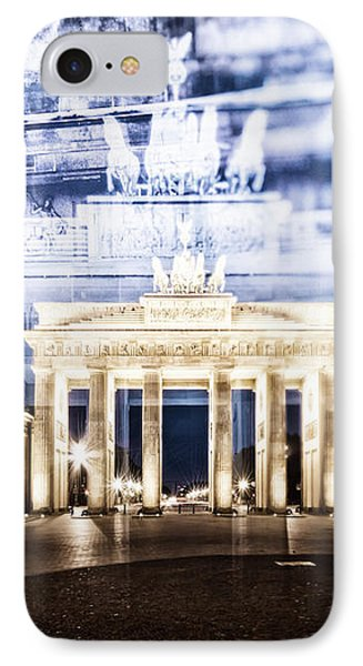 Berlin Brandenburg Gate In Detail IPhone Case