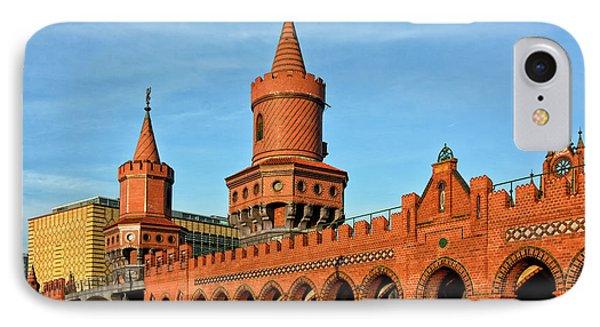 Berlin Oberbaumbruecke IPhone Case by Joachim G Pinkawa