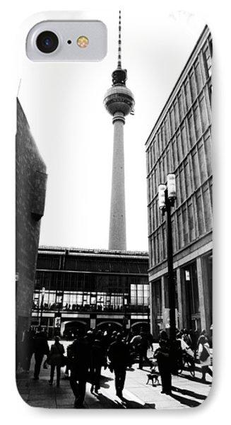 Berlin Street Photography Phone Case by Falko Follert