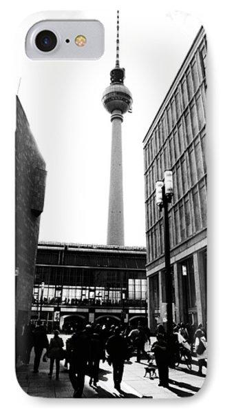 Berlin Street Photography IPhone Case by Falko Follert