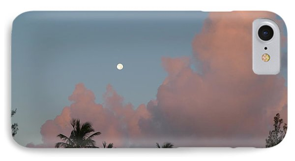 Bermuda Morning Moon IPhone Case by Richard Reeve