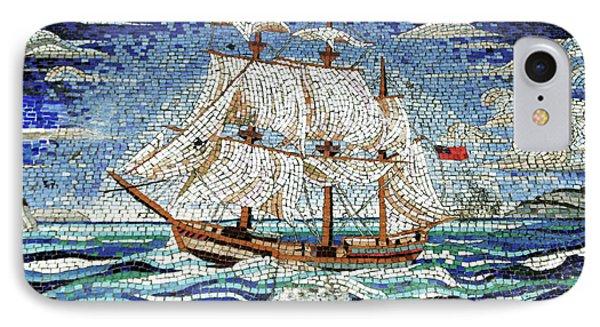 Bermuda Schooner Mosaic IPhone Case