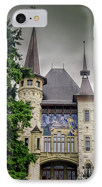 Berne Historical Museum IPhone Case by Michelle Meenawong