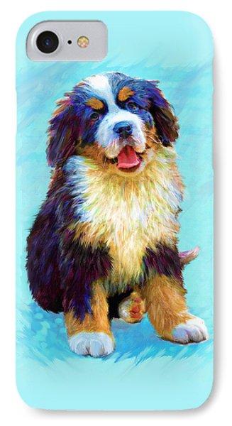 Bernese Mountain Dog Phone Case by Jane Schnetlage