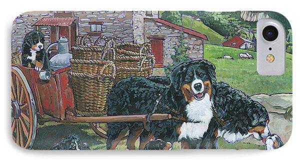Bernese Mountain Dog IPhone Case