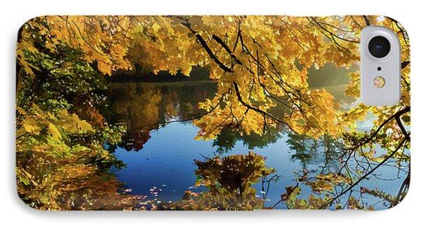 Bernharts Dam 15-244 IPhone Case by Scott McAllister