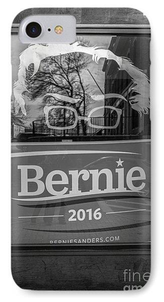 Bernie Sanders Claremont New Hampshire Headquarters IPhone Case by Edward Fielding