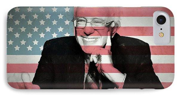 Bernie Sanders IPhone Case by Dan Sproul