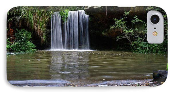 IPhone Case featuring the photograph Berowra Waterfall by Werner Padarin