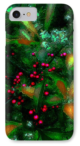 Berries IPhone Case by Iowan Stone-Flowers
