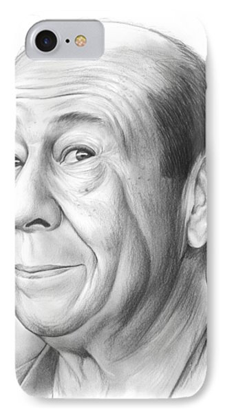 Wizard iPhone 7 Case - Bert Lahr by Greg Joens