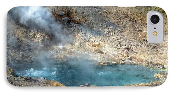 Beryl Hot Springs, Ynp IPhone Case by Greg Sigrist