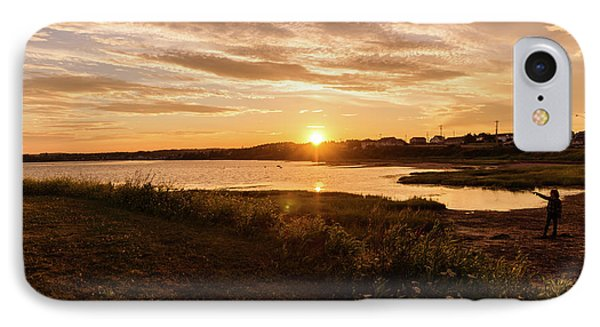 Besides North Rustico Harbor IPhone Case by Chris Bordeleau